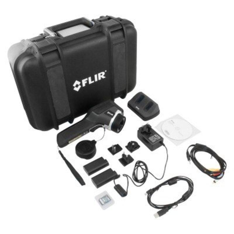 FLIR E60 pour la maintenance préventive (320 x 240 pixels)
