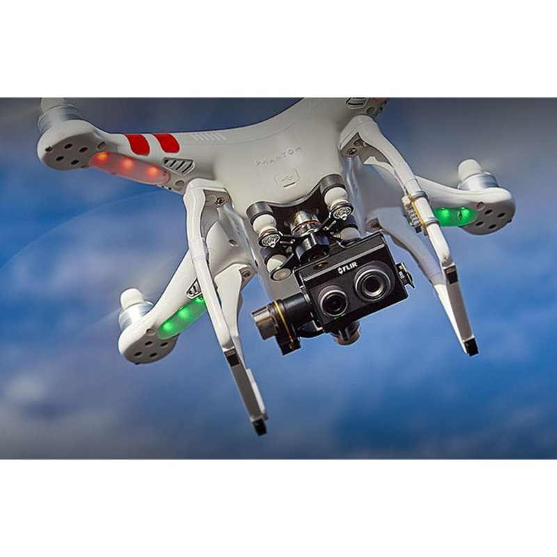 FLIR DUO - Compact dual-sensor thermal imager for drones