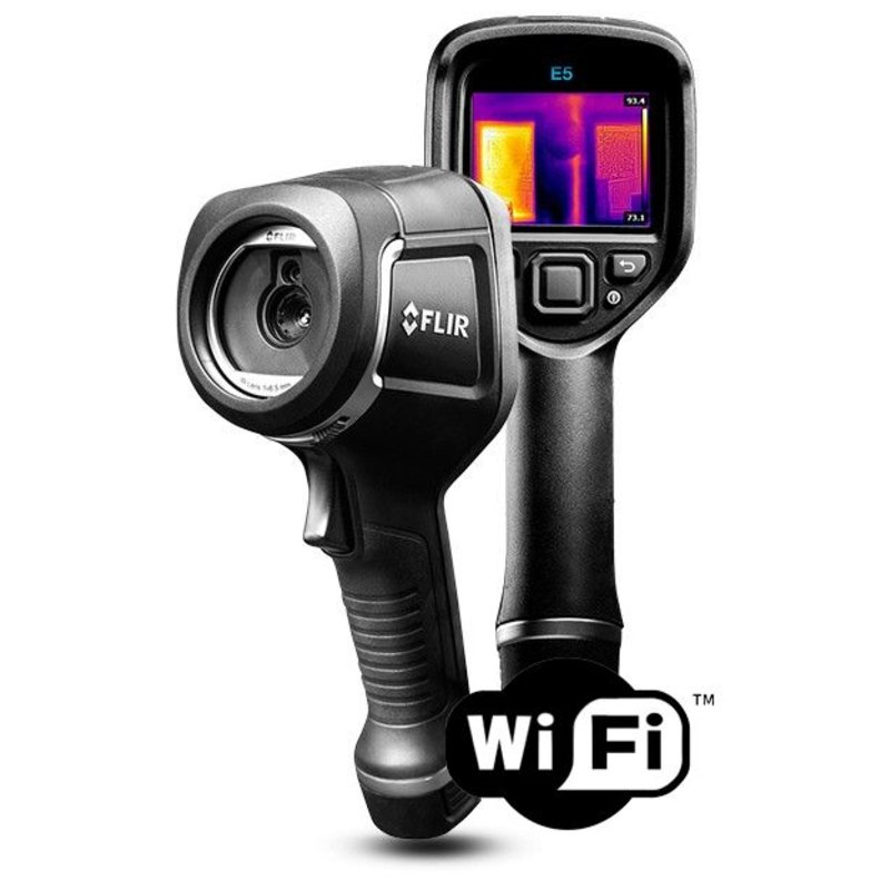 FLIR E5 WiFi Point & Shoot Wärmebildkamera 120 x 90 pixels