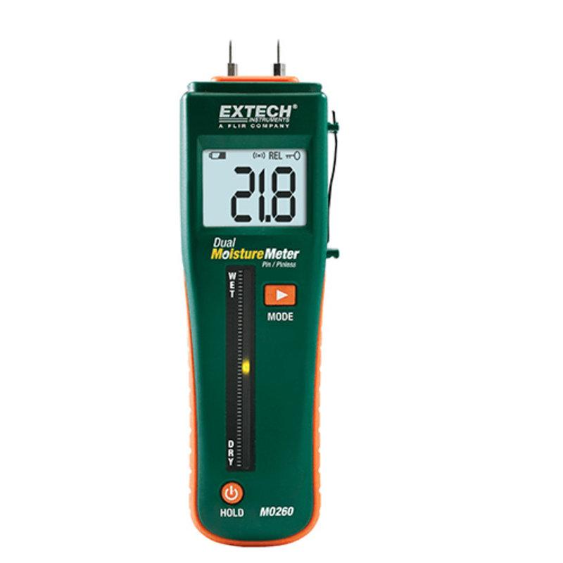 EXTECH MO260 Dual Moisture Meter