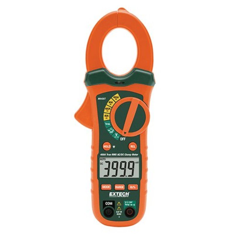 EXTECH MA435T Clampmeter + NCV 400A AC/DC
