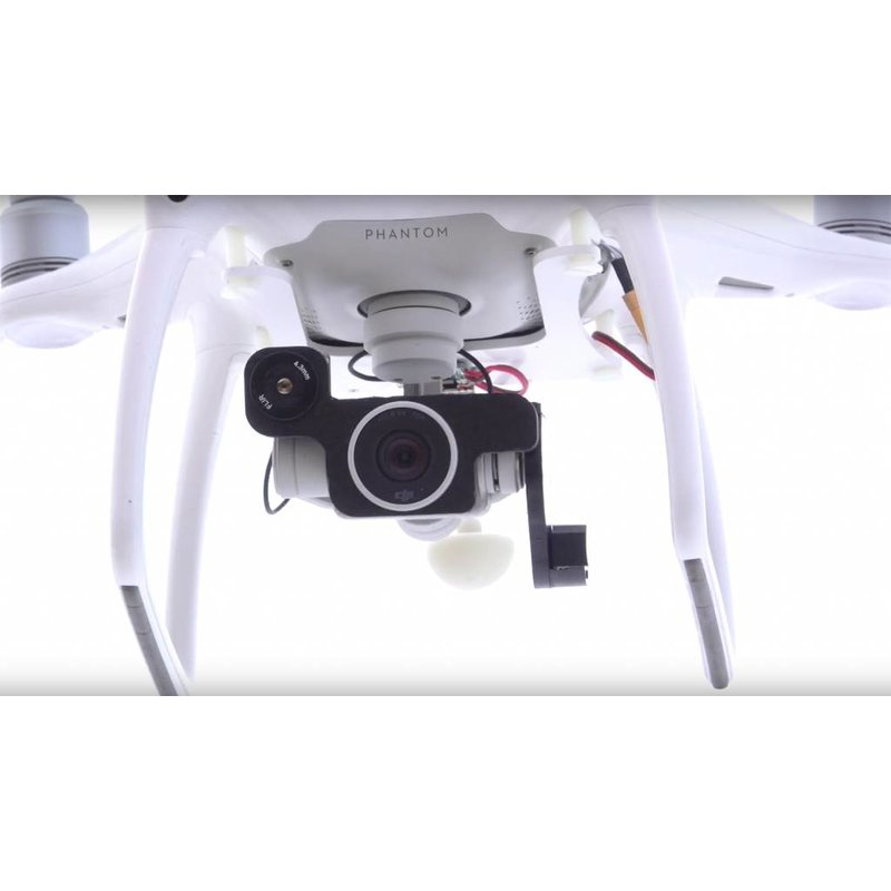 FLIR 'Ready-to-Fly' thermal FLIR Boson 320 Drone package including Phantom 4