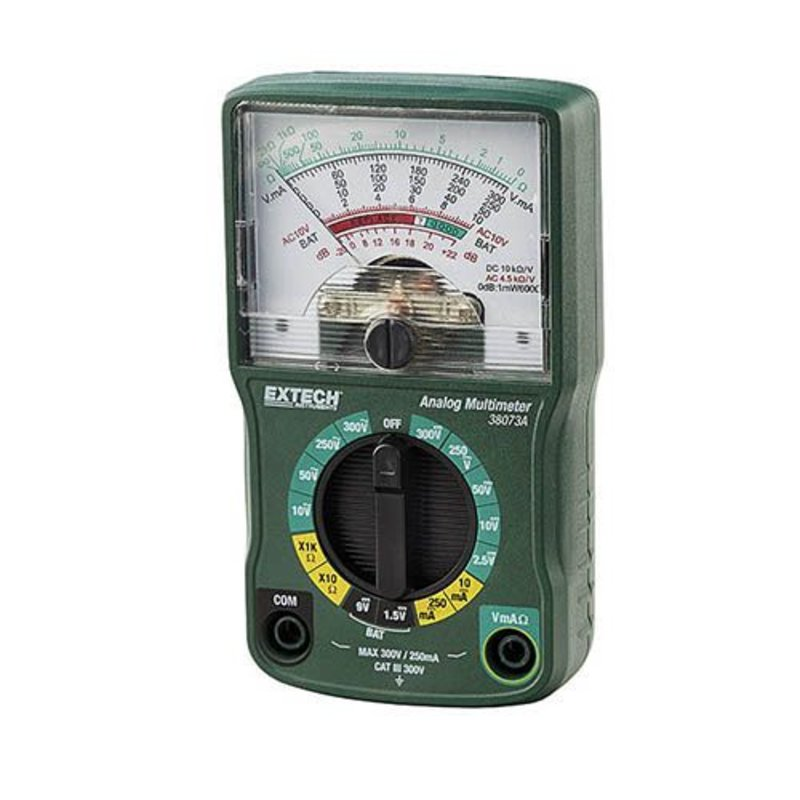 EXTECH 38073A - Mini Analog Multimeter