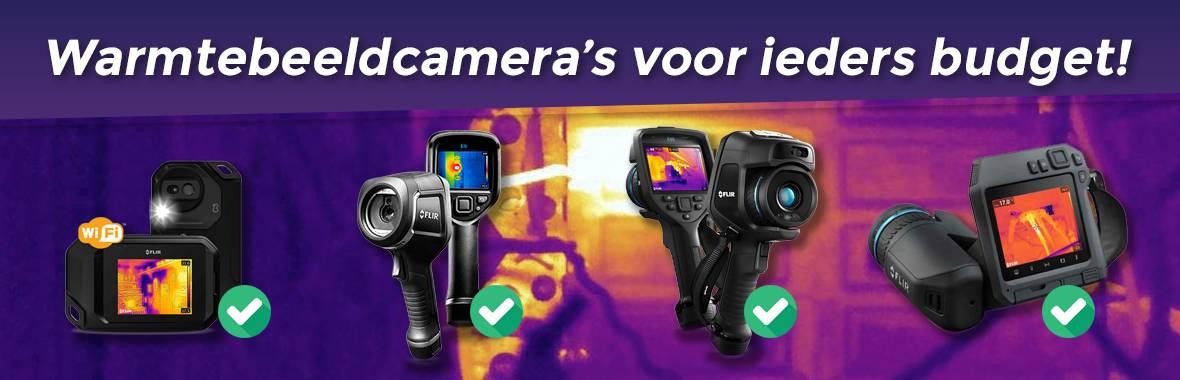 Warmtebeeldcamera's voor ieders budget