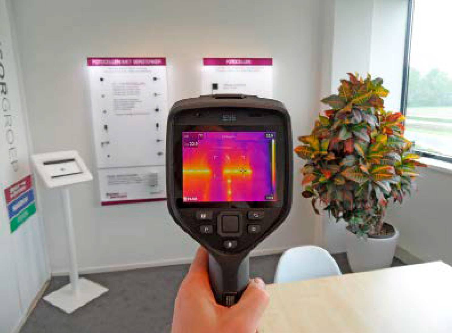 Thermische camera schijnt licht op onzichtbare problemen in autobranche