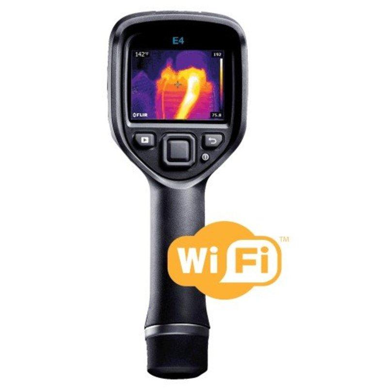 FLIR E4 WiFi Point & Shoot thermal imaging camera 80 x 60 pixels