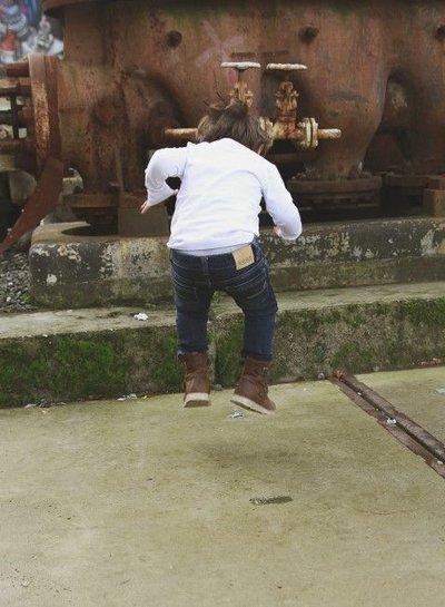 BOOF Blue Moon jogg jeans unisex