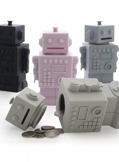 KG Design Spaarpot robot wit