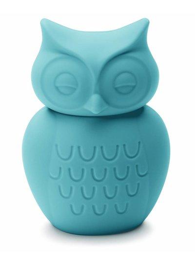 KG Design Spaarpot uil turquoise