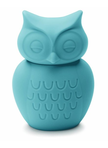 KG Design Spaarpot uil turquoise