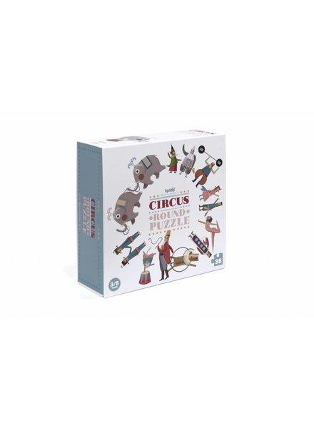 Londji  Ronde puzzel Circus