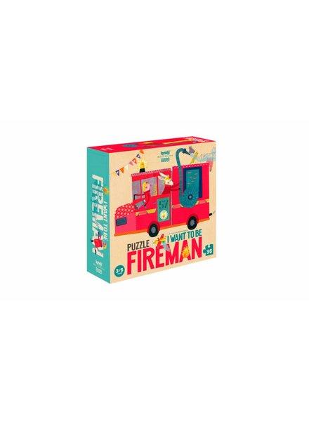 Londji  Puzzel brandweerman