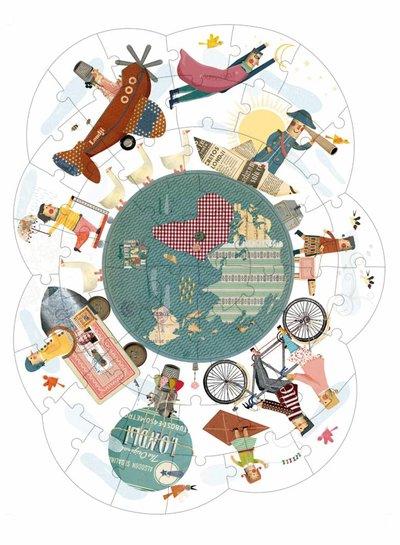 Londji  Puzzel around my planet