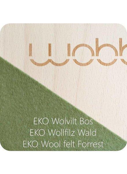 Wobbel Wobbel Original Linnen whitewash vilt bos