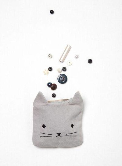Fabelab Portemonneetje Cuddly Cat
