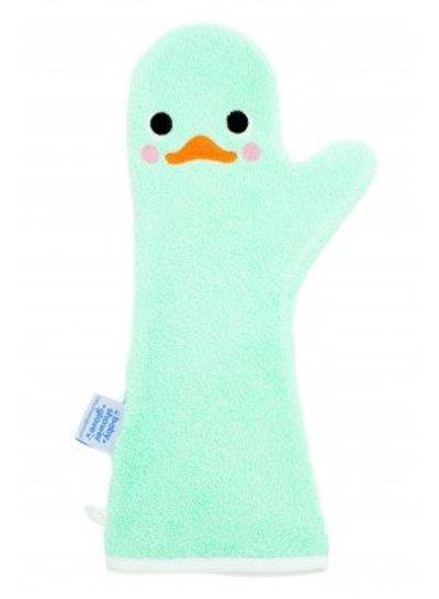 Invented 4 Kids  Baby Shower Glove Zwaan mint