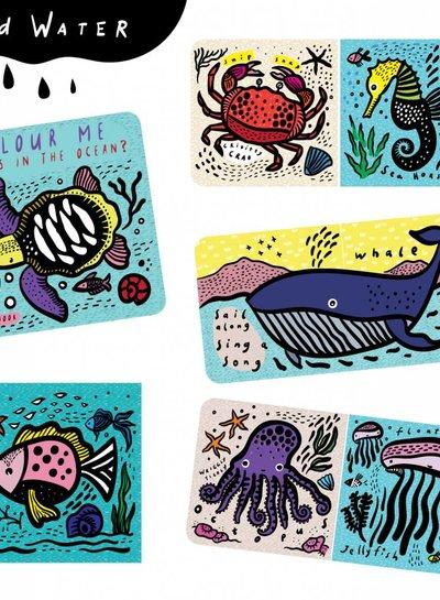 Wee Gallery Badboekje - Color Me: Who's in the Ocean?
