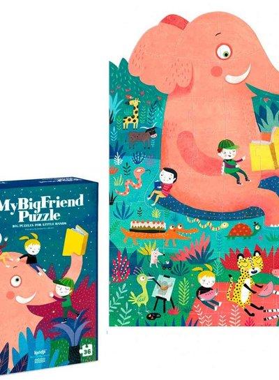 Londji  Puzzel my BigFriend puzzel