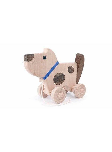 Bajo Houten speelgoedhond Baja