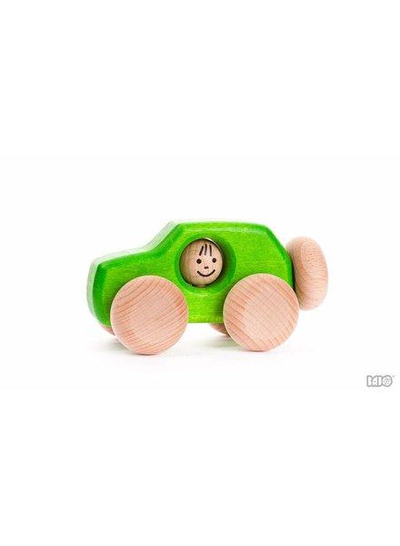 Bajo Houten speelgoed SUV groen