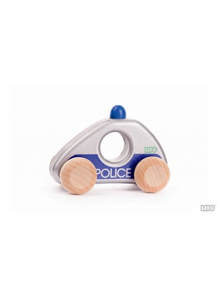 Bajo Houten speelgoed politieauto