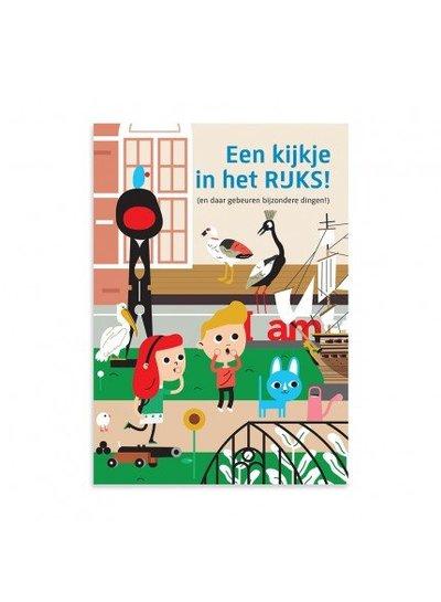 Makii XL kleurplaat het Rijksmuseum