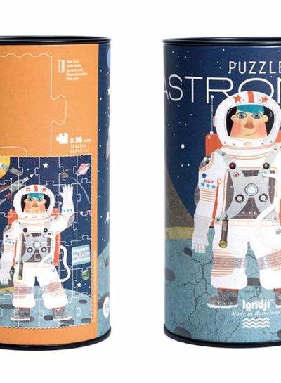 Londji  Puzzel astronaut in blik
