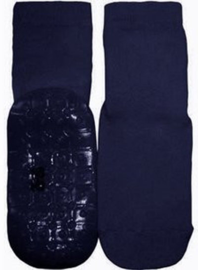 Ewers Antislip sokken donkerblauw