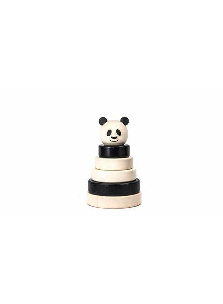 Bajo Houten stapeltoren panda