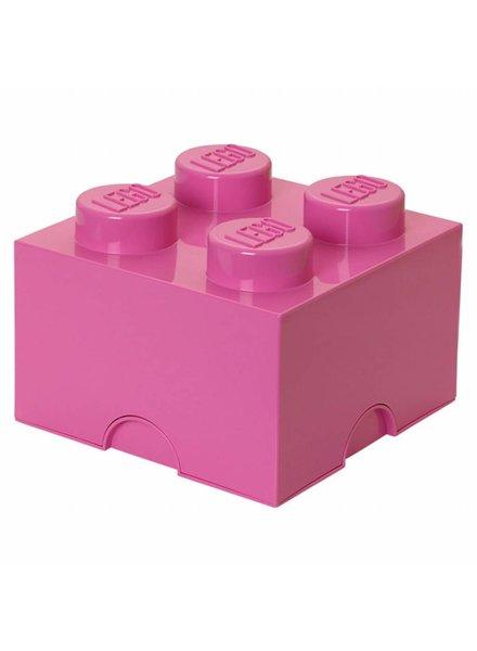LEGO roze opslagsteen 25 x 25 xm
