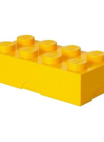 LEGO broodtrommel geel
