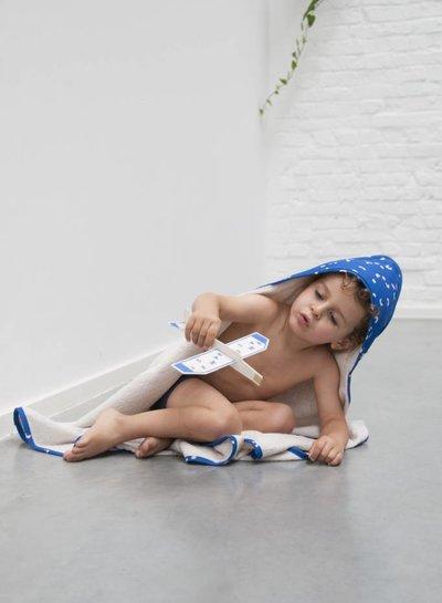 Trixie badcape met washandje Play