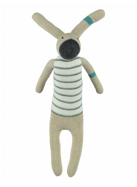 Kidscase Knuffel konijn blauw, Kidscase