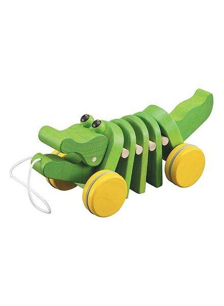 Plan Toys Dansende houten krokodil