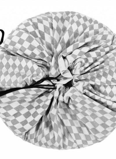 Play&Go Opbergzak Play&Go diamant patroon grijs
