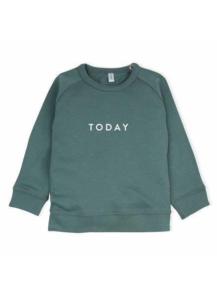 OrganicZoo groen sweatshirt today