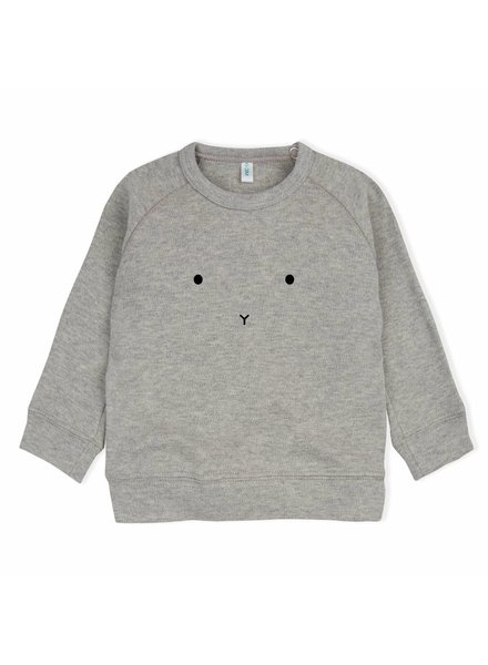 OrganicZoo Grijs sweatshirt Bunny
