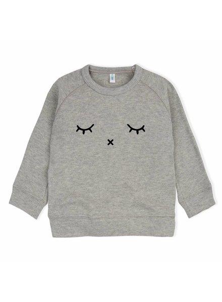 OrganicZoo Grijs sweatshirt Sleepy
