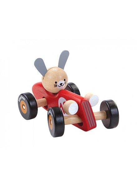 Plan Toys Konijn racewagen Plan-Toys