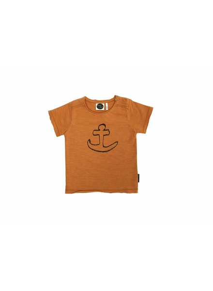 Sproet & Sprout T-shirt oranje anker