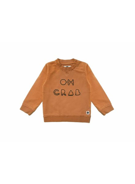 Sproet & Sprout Sweater oh crab oranje