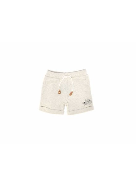 Sproet & Sprout Sweatshort wit pufferfish