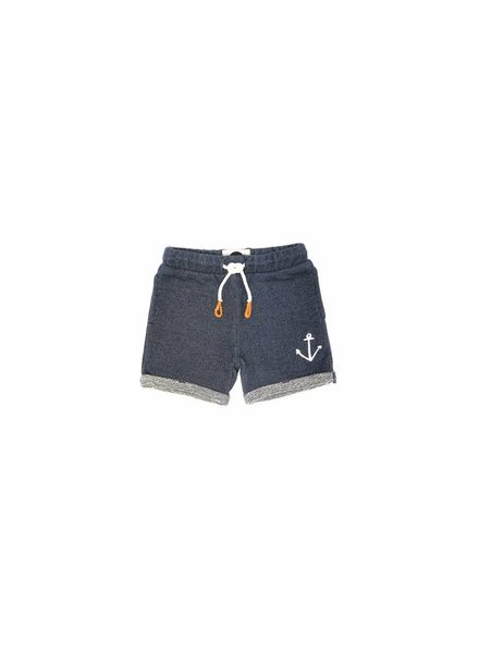 Sproet & Sprout Sweatshort blauw anchor