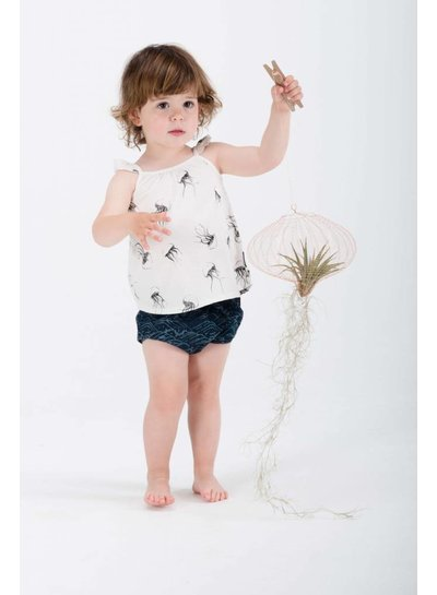 Sproet & Sprout Bloomer blauw waves