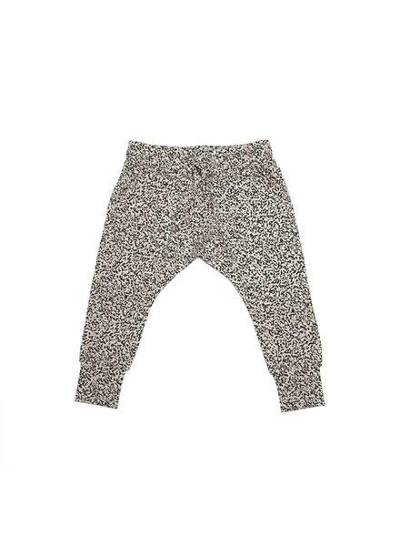 MINGO Slim fit joggers speckels