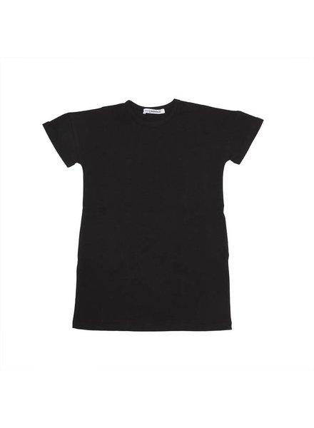 MINGO T-shirt jurkje zwart