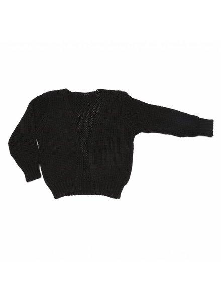 MINGO Cardigan zwart