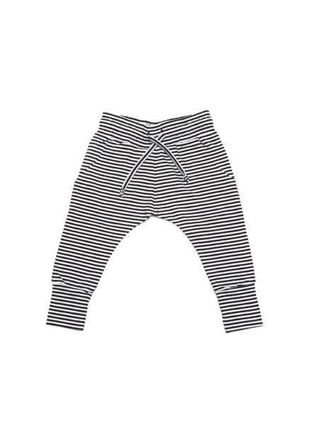 MINGO Slim fit joggers stripes