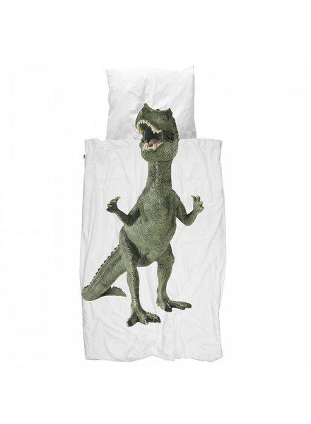 SNURK Dekbedovertrek Dinosaurus Rex (eenpersoons)