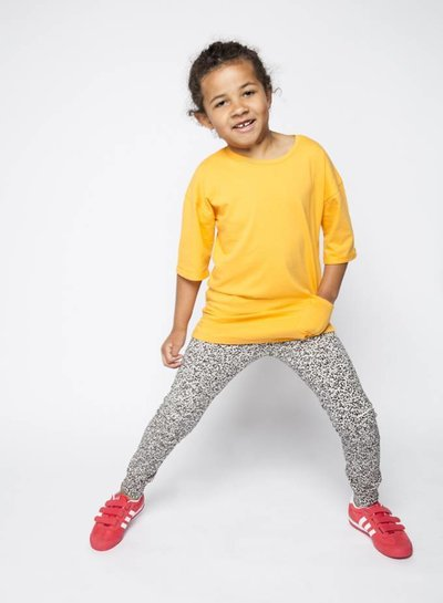 MINGO Slim fit joggers dots